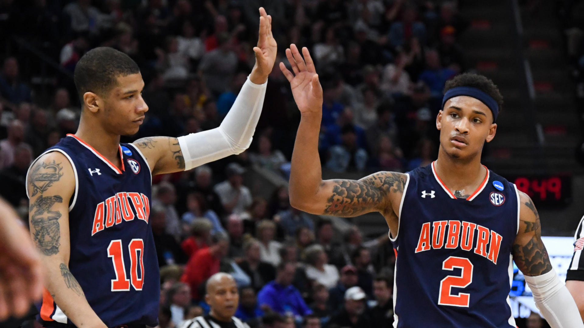 2019 March Madness bracket: Michigan vs. Texas Tech odds, Sweet 16 picks, predictions from model on 11-5 roll