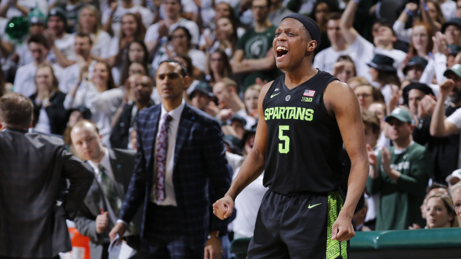 Michigan State big man Nick Ward suffers fracture in left hand, out indefinitely