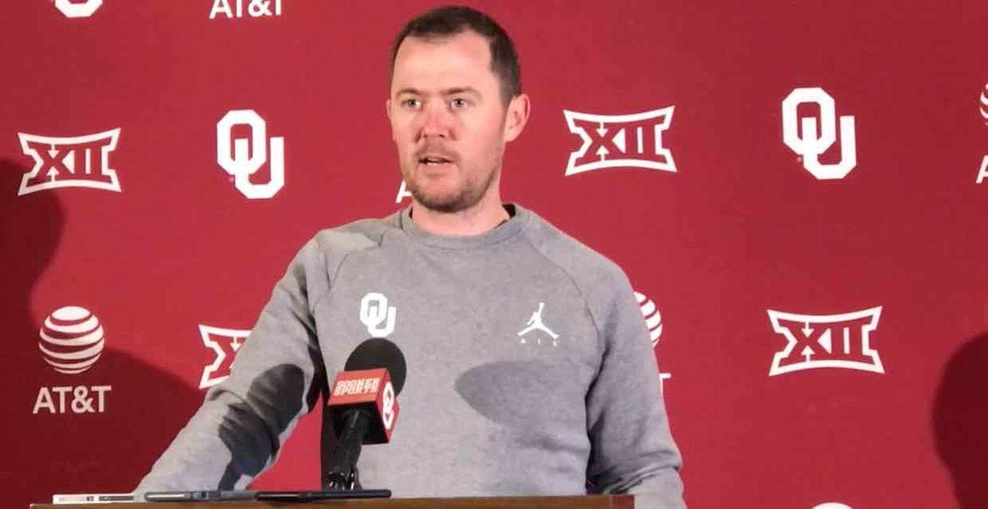 Lincoln Riley opens spring ball - CBSSports.com