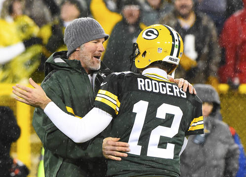 How Aaron Rodgers came to understand Brett Favre