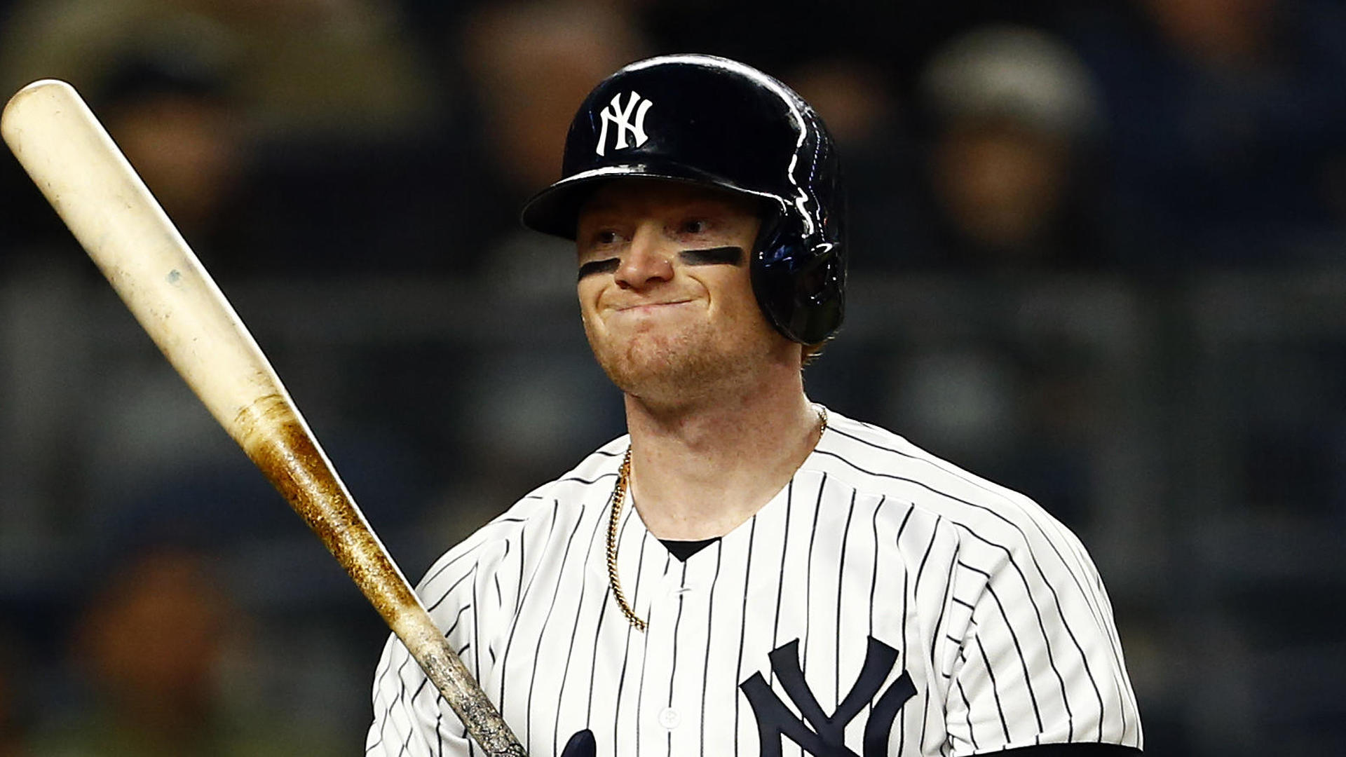 Yankees outfielder Clint Frazier surprised by demotion to minors: 'It's a tough pill to swallow'