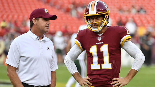 4aeecf912dd NFL  Expectations for Alex Smith in Washington s offense - Video -  CBSSports.com