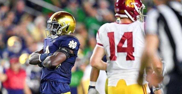 NCAAF  USC Trojans  What to expect from Notre Dame  - Video ... 241e94d1c
