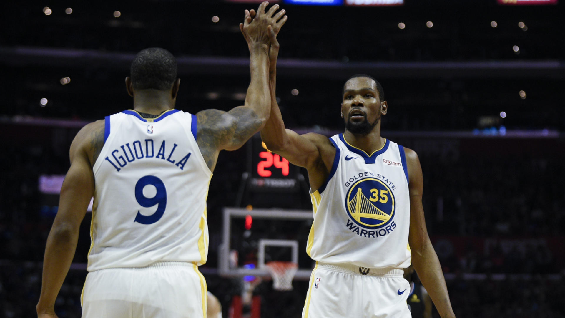 NBA playoffs scores, highlights, results: Warriors get revenge, rout Clippers in Game 3; Spurs, 76ers take 2-1 leads