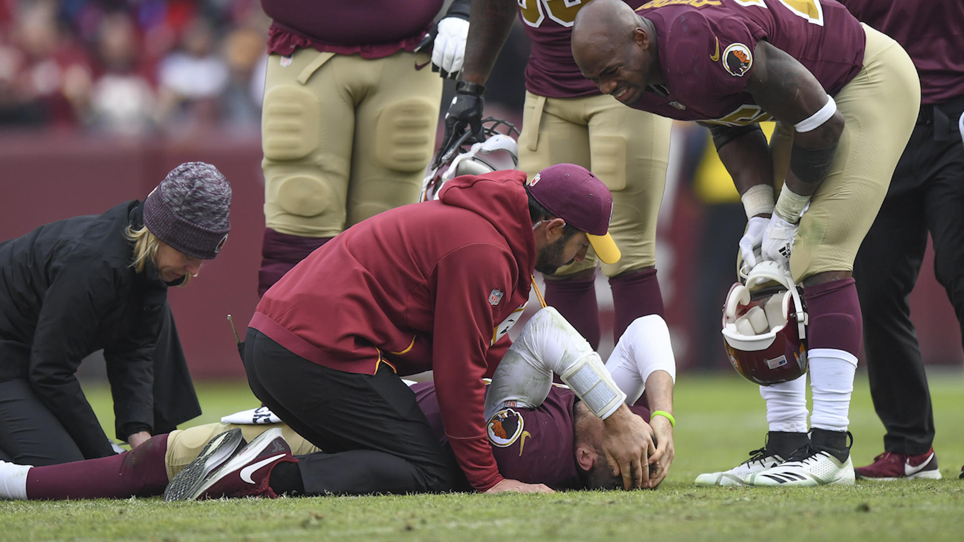 c17d3b002d7 Mark Sanchez is back: Redskins reportedly to sign QB after gruesome injury  to Alex Smith