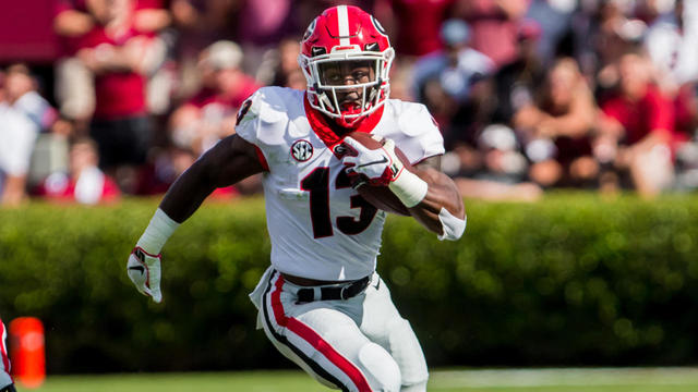 bb50099a81c NCAAF: Georgia Bulldogs: Can Elijah Holyfield be the guy at RB for ...
