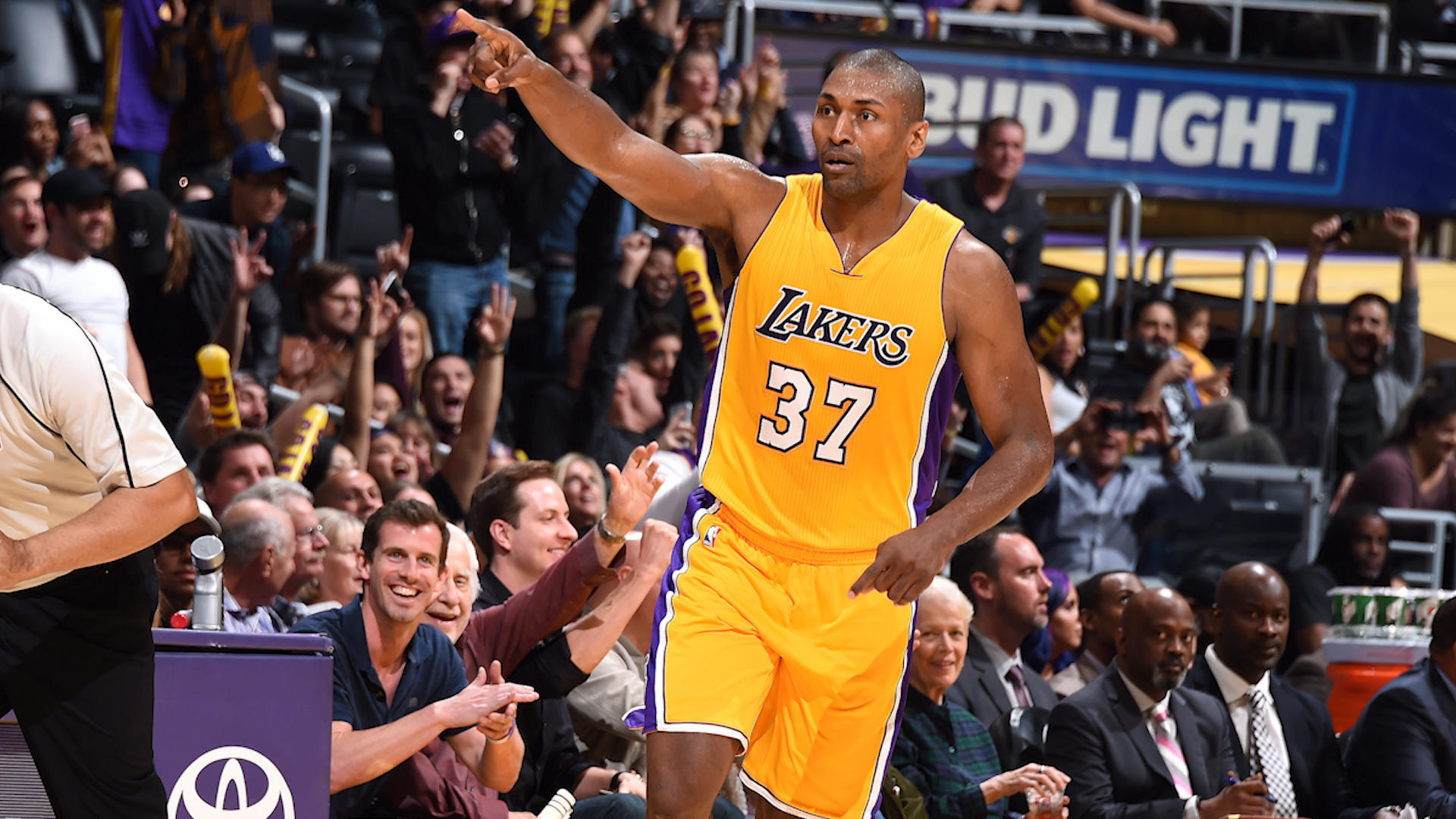 Metta World Peace talks about upcoming documentary 'Quiet Storm: The Ron Artest Story'