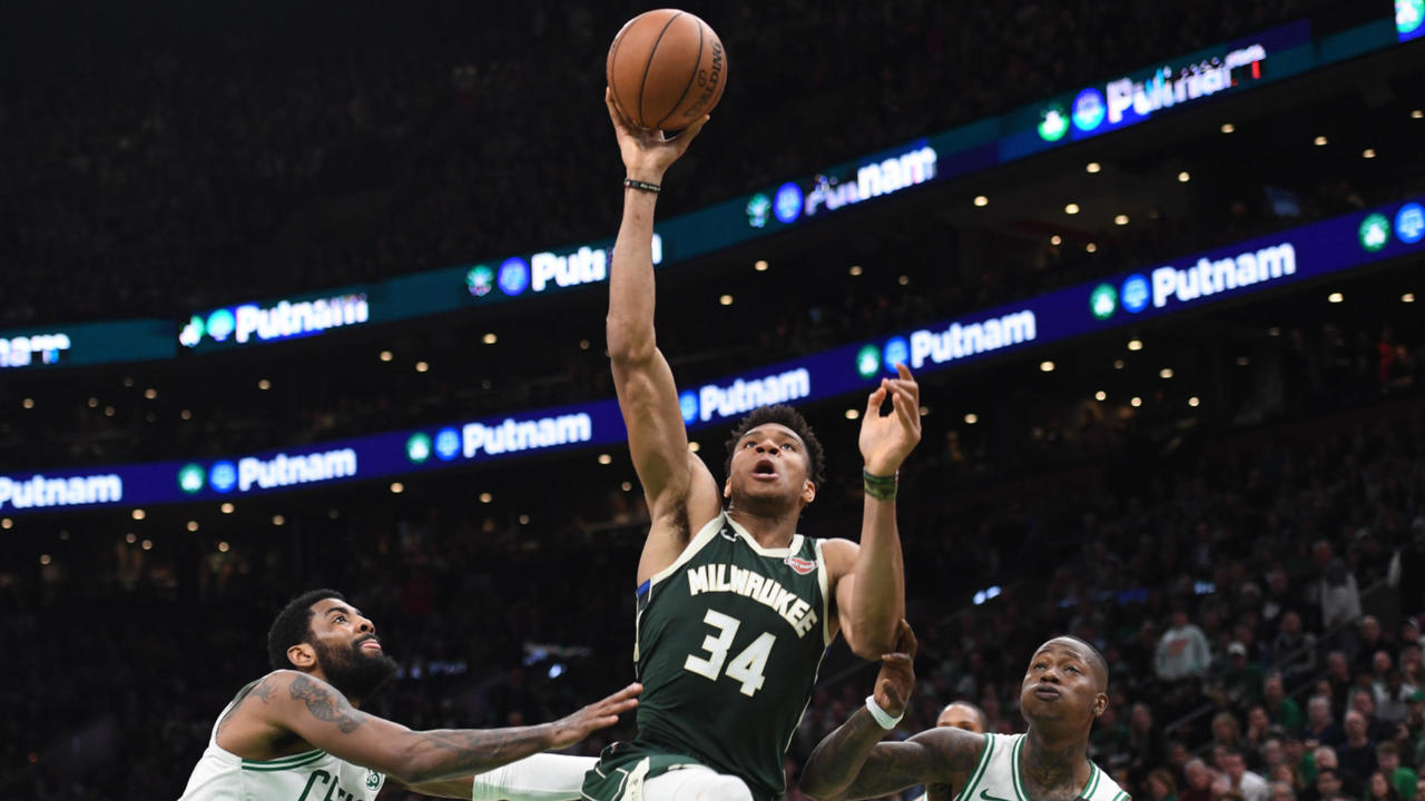 NBA on Flipboard by CBS Sports | Kyrie Irving, NBA, Giannis Antetokounmpo