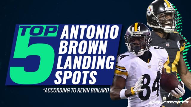 The Top 5 NFL landing spots for Antonio Brown in 2019