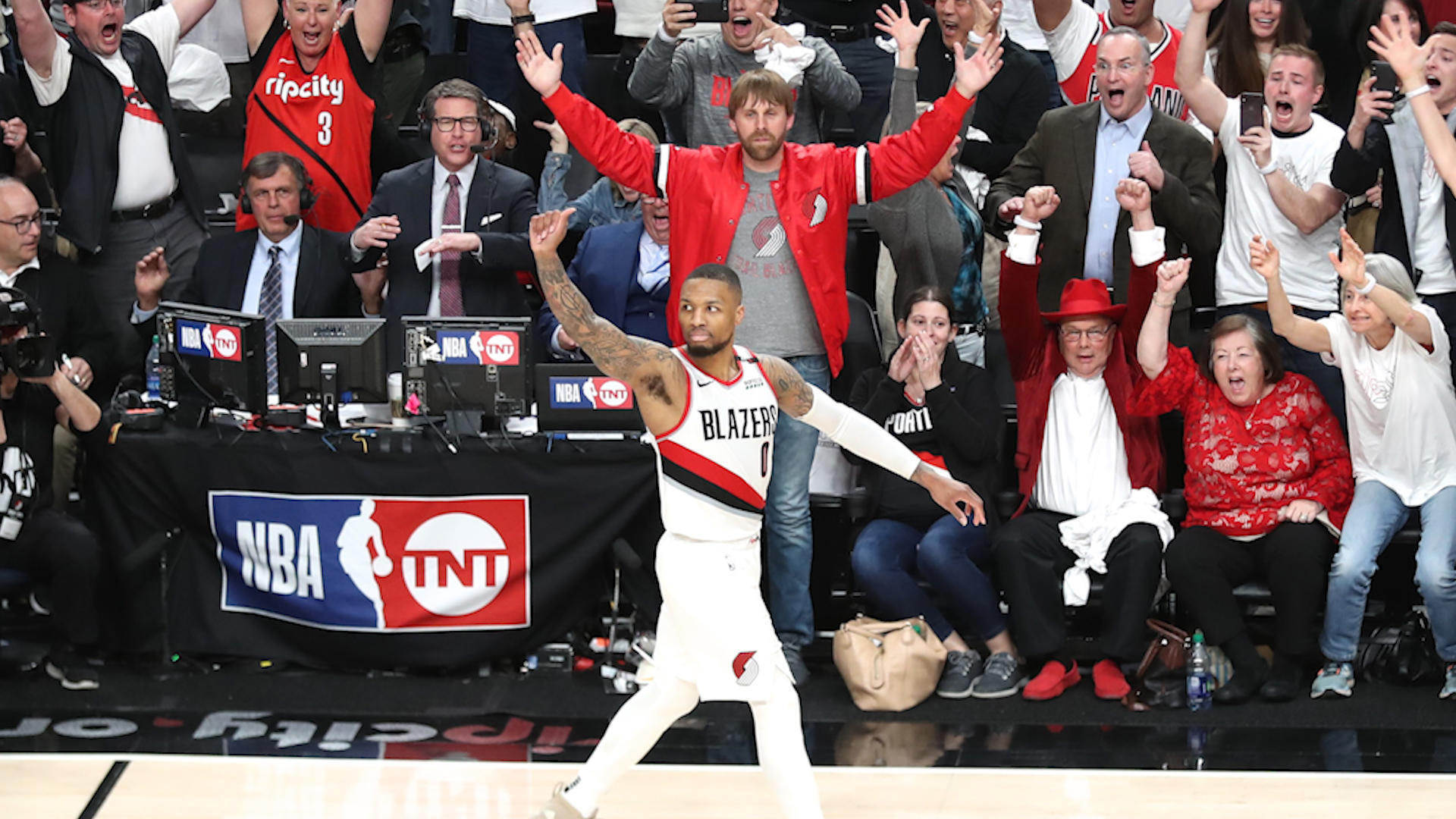 Damian Lillard emerges as star of NBA playoffs with game-winning, series-ending shot against Thunder