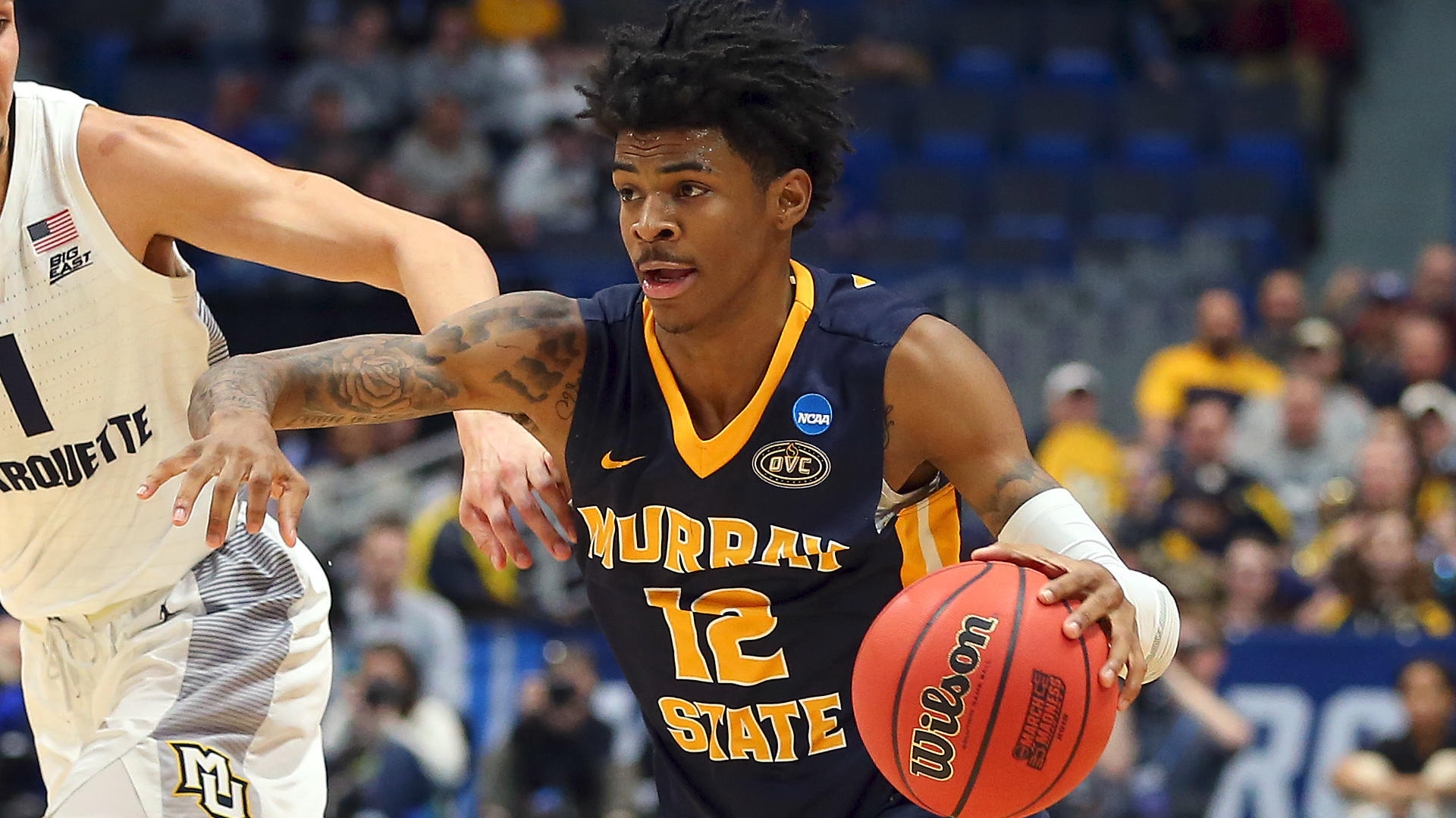 Ja Morant steals the first day of the 2019 NCAA Tournament as Murray State mutilates Marquette