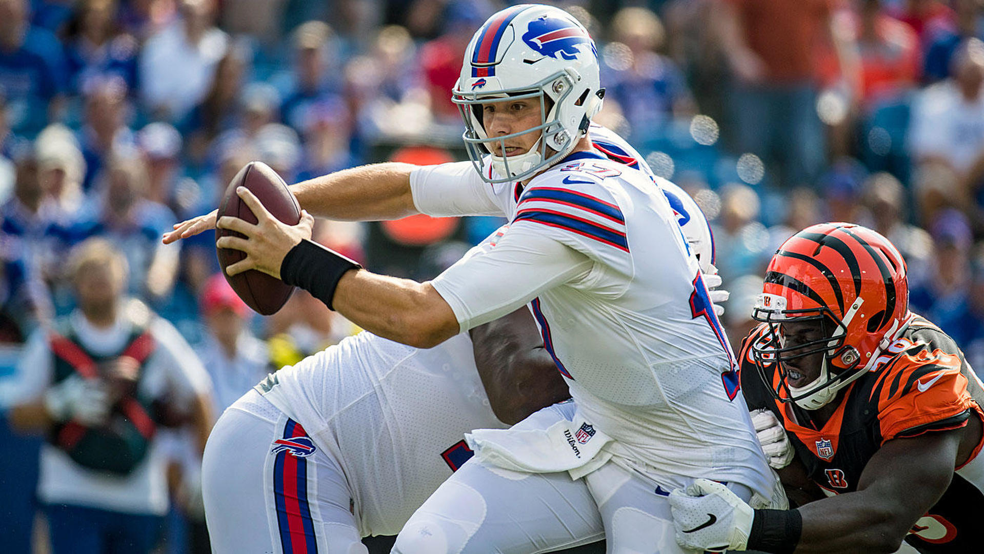 After trading AJ McCarron, Bills name 2017 fifth-rounder Nathan Peterman starting QB