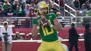 Oregon's Vegas odds trending towards Auburn day before kickoff