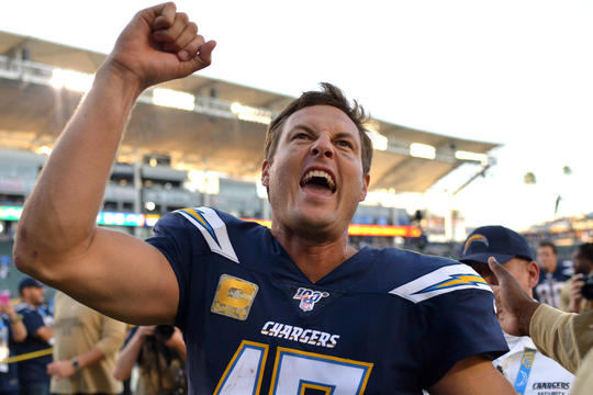 Philip Rivers on Chargers win over the Packers