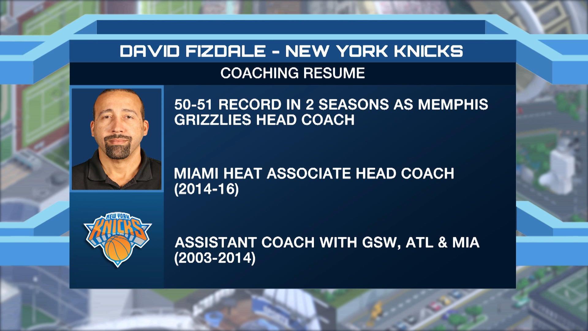 Knicks coach David Fizdale isn't against the idea of having Joakim Noah around next season