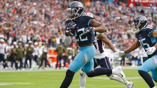 Highlights: Patriots at Titans