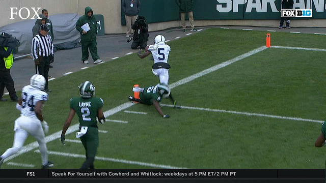 Penn State Nittany Lions: WATCH: DaeSean Hamilton runs 31 yards for a PSU  TD - Video - CBSSports.com