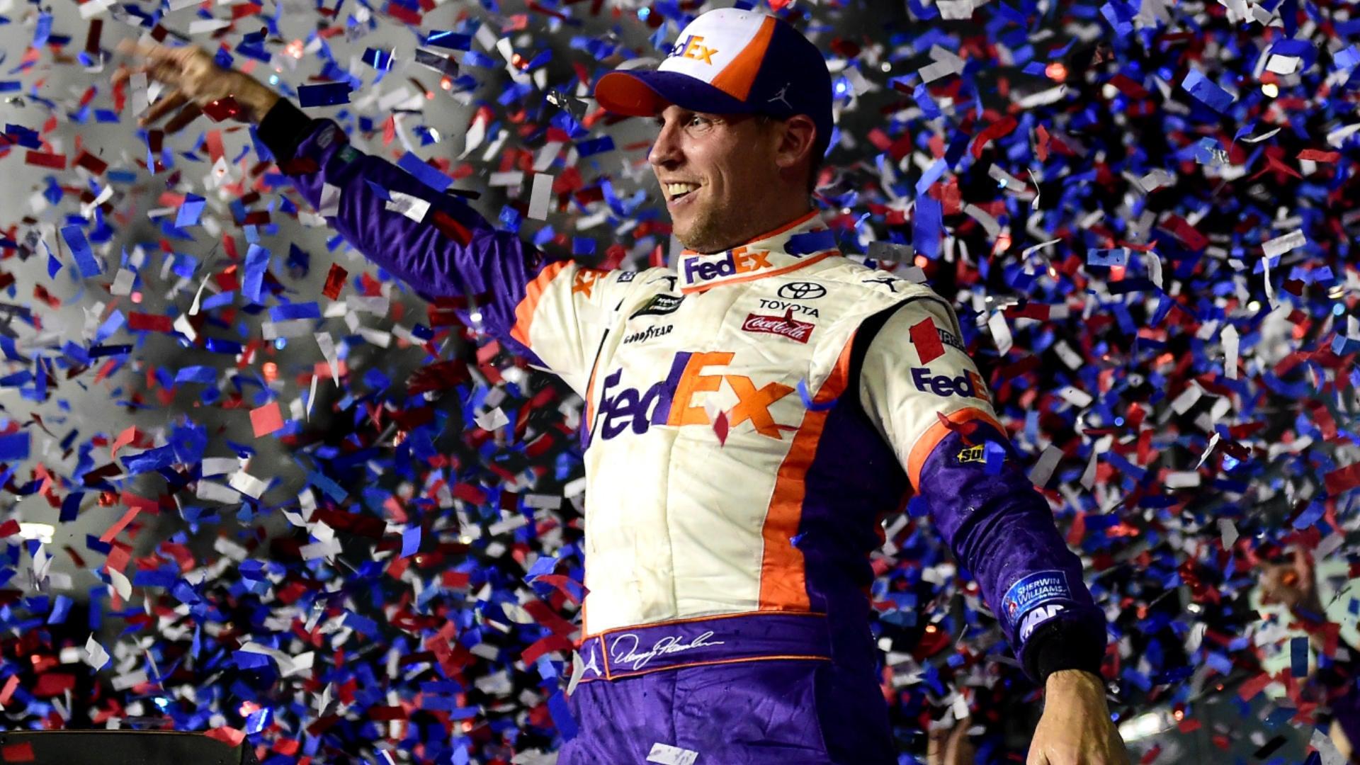 2019 Daytona 500 results: Denny Hamlin holds off Kyle Busch, avoids crashes to win NASCAR's biggest race
