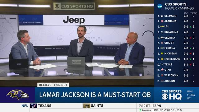 Fantasy Football Today: Is Lamar Jackson A Reliable Fantasy