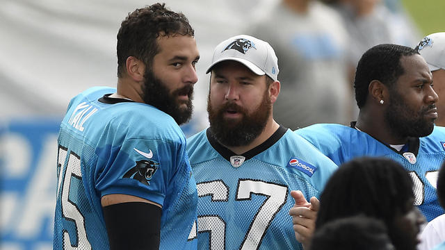 e0e58eec NFL: Carolina Panthers: Outlook for Panthers offensive line - Video ...