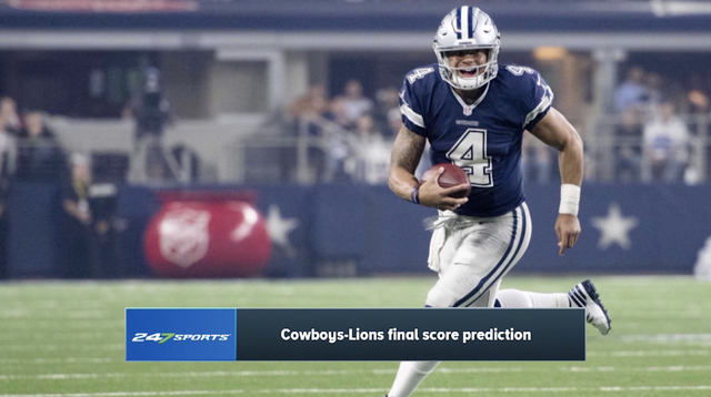 cec8dbe66 NFL  Cowboys-Lions final score prediction - Video - CBSSports.com