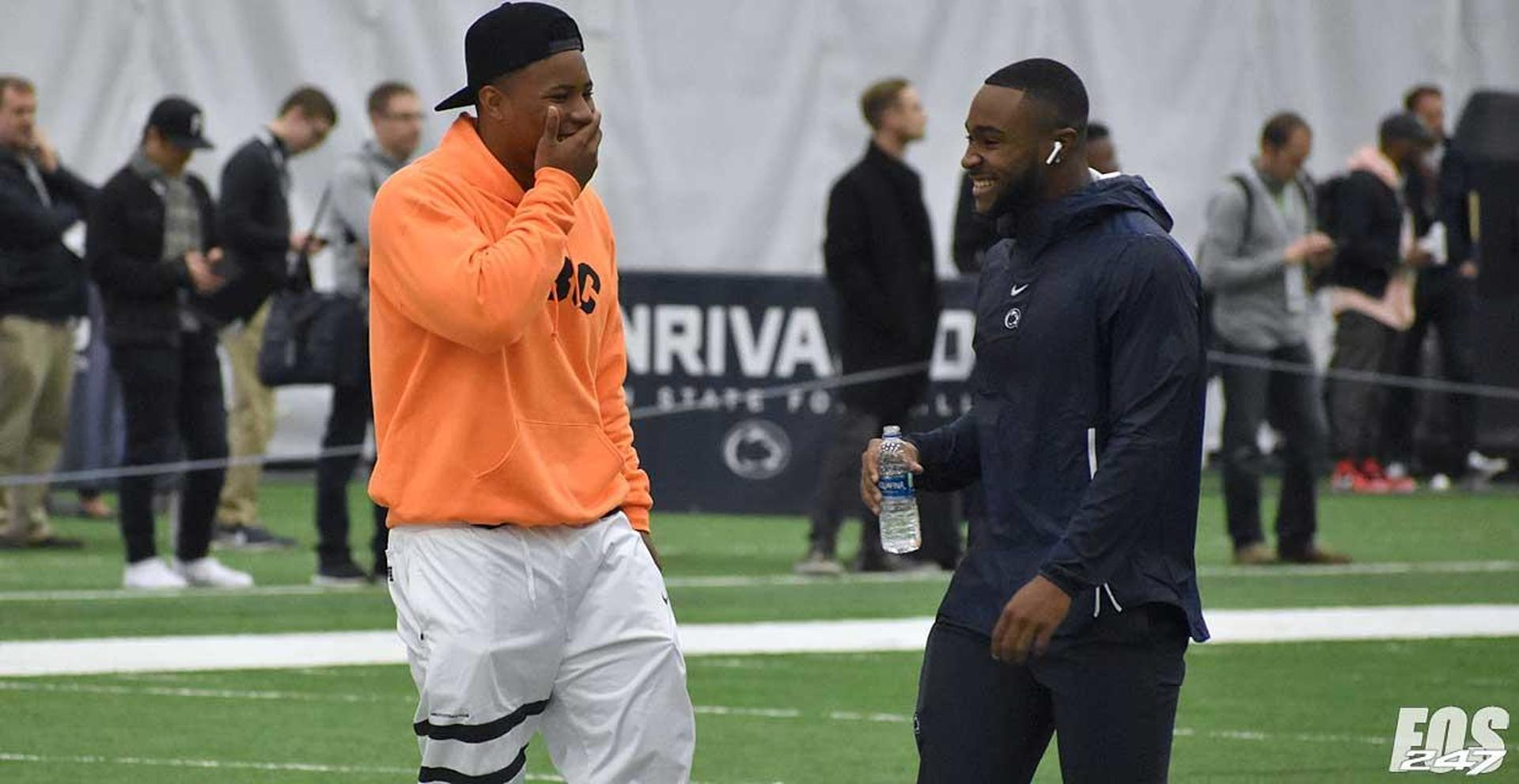 Saquon crashed PSU Pro Day - and an old roommate's apartment - CBSSports.com