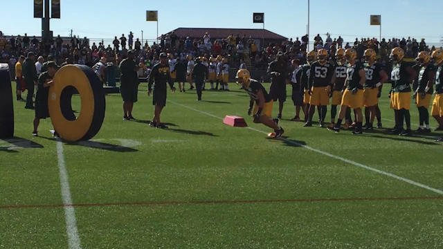 Green Bay Packers Training Camp: Tackling drills