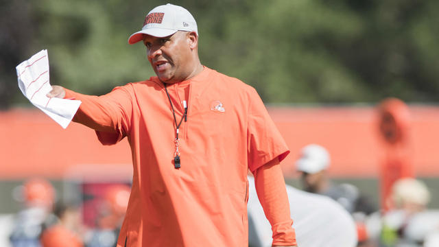 9e57c7055fd Top Videos  Live from Browns Camp  Expectations for Hue Jackson ...