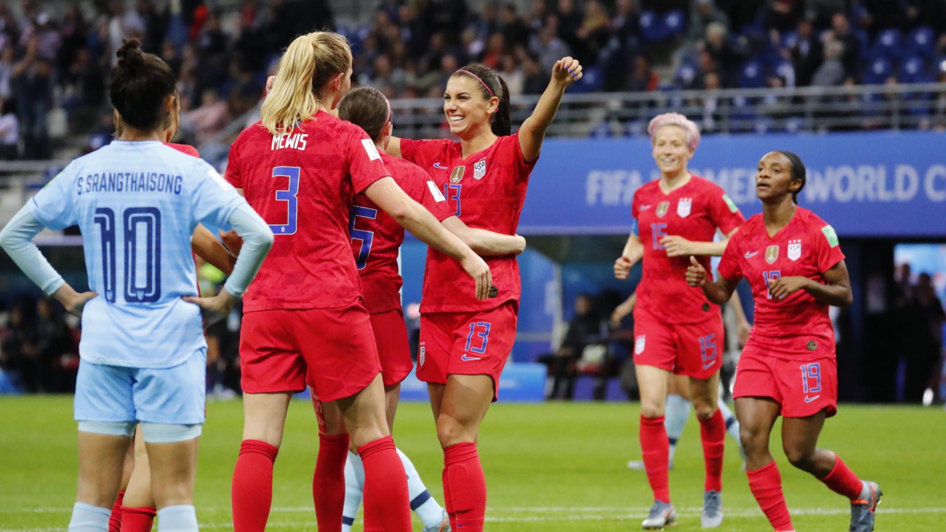 2019 FIFA Women's World Cup odds: USWNT favored by more than one goal vs. Sweden