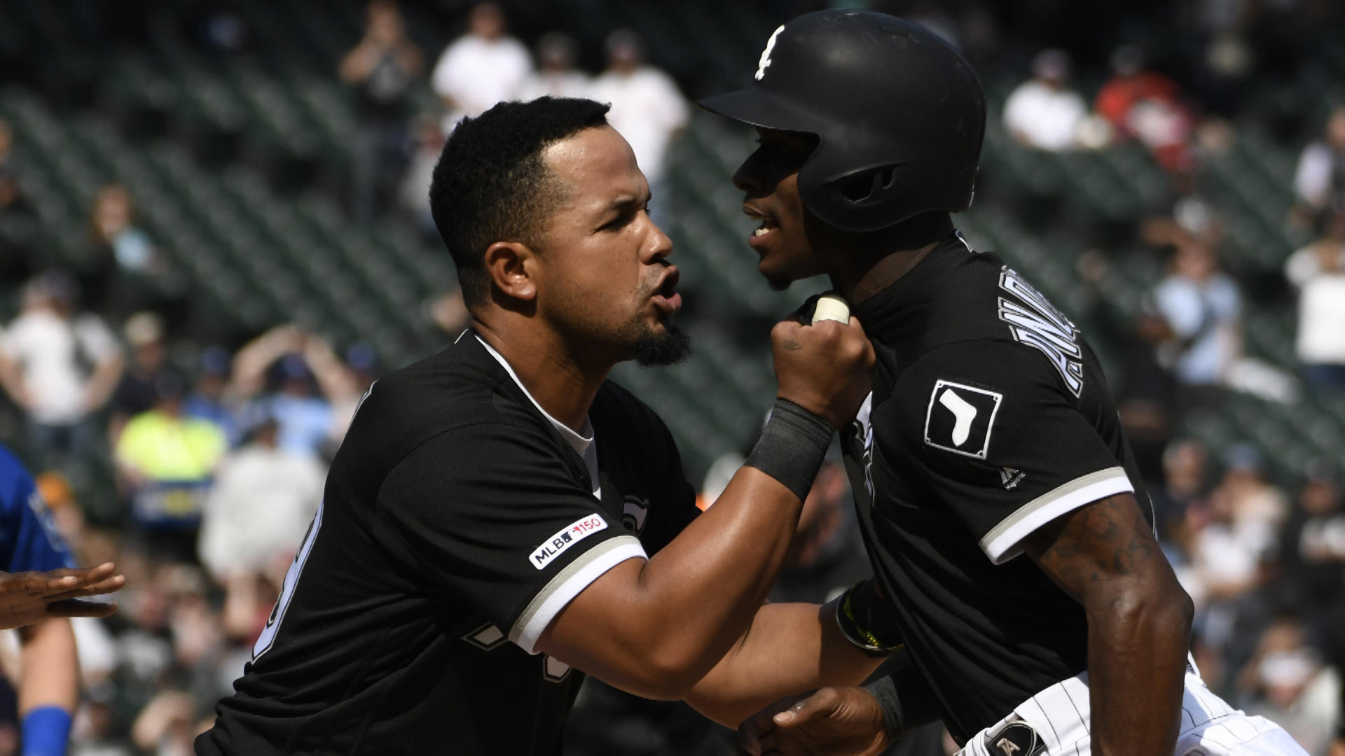 MLB scores: Benches clear, four ejected in Royals-White Sox scuffle; Gardner's grand slam lifts New York over Boston