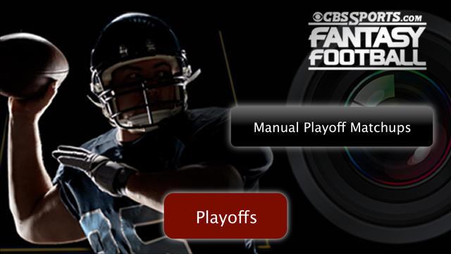 nfl_fantasy_support: Manual Playoff Matchups FB15 - Video ...