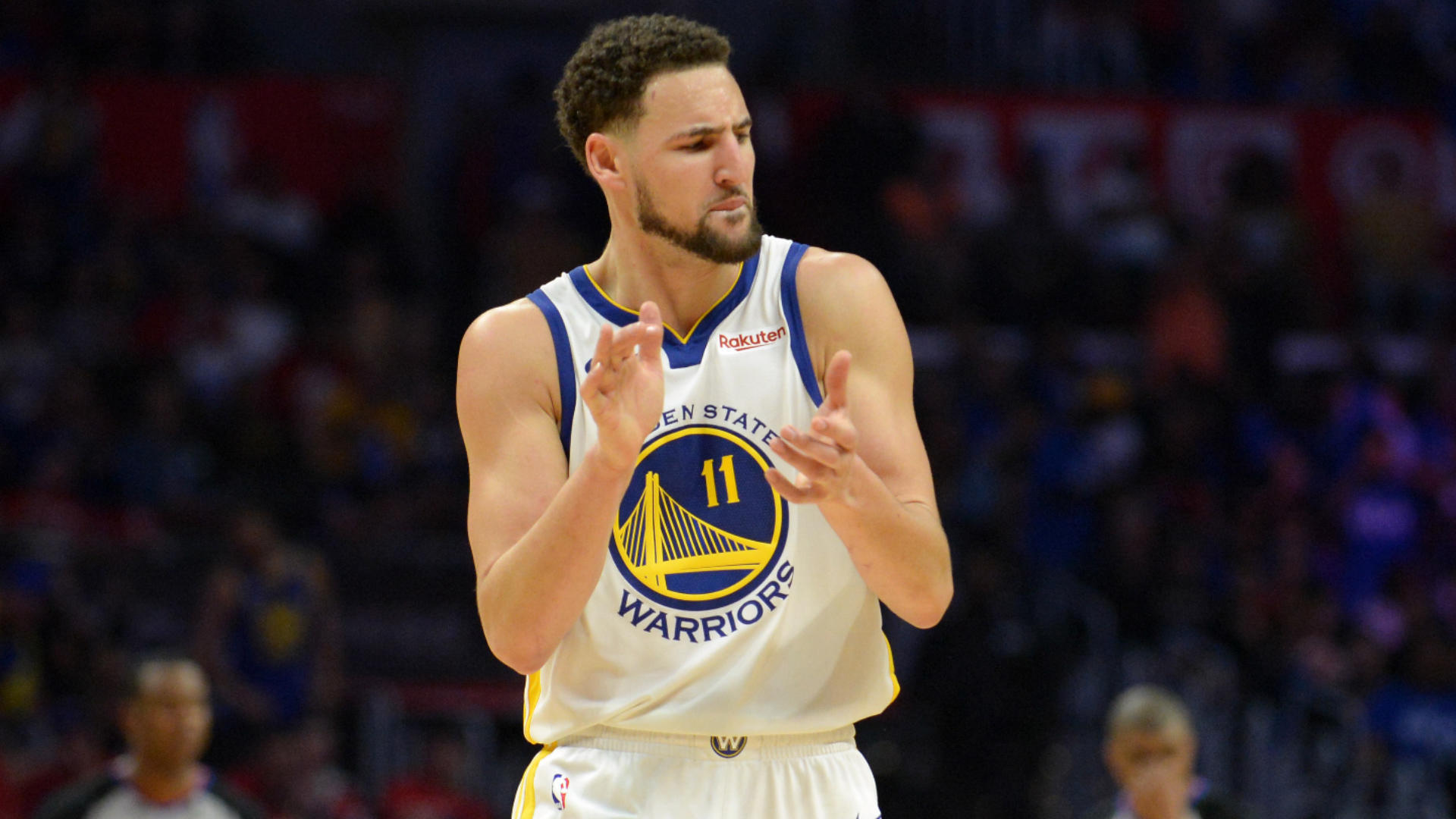 NBA Playoffs 2019: Warriors' Klay Thompson says breakout performance in Game 4 powered by taking a dip in the ocean