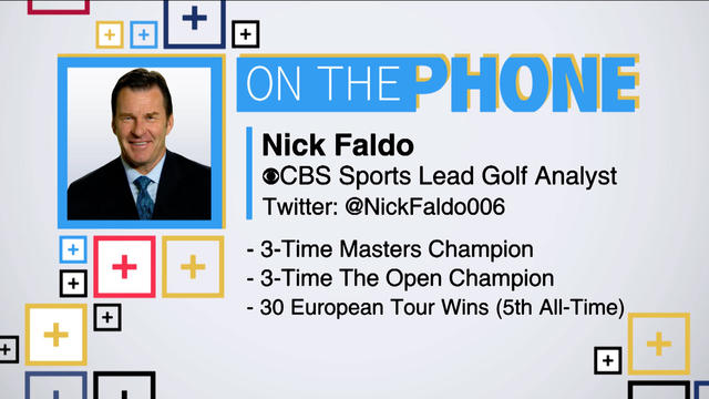 Tiki and Tierney: Nick Faldo talks PGA Championship