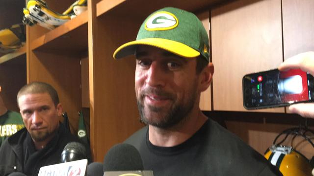 Aaron Rodgers: 'There's definitely some nerves'