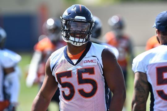 NFL  Gauging rookie expectations for Broncos  Bradley Chubb - Video -  CBSSports.com c0991b7b1