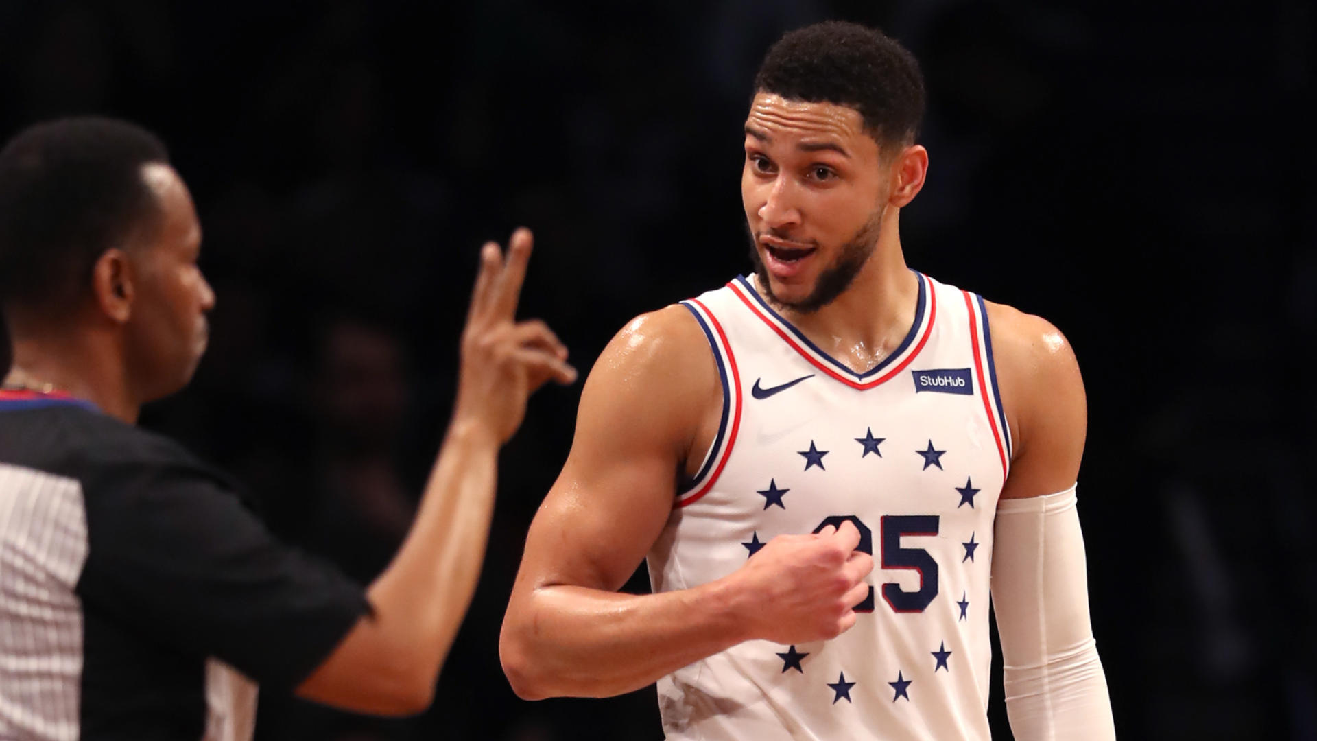 NBA Playoffs 2019: Sixers' Ben Simmons responds to criticism from Nets' Jared Dudley with impressive game, trolling