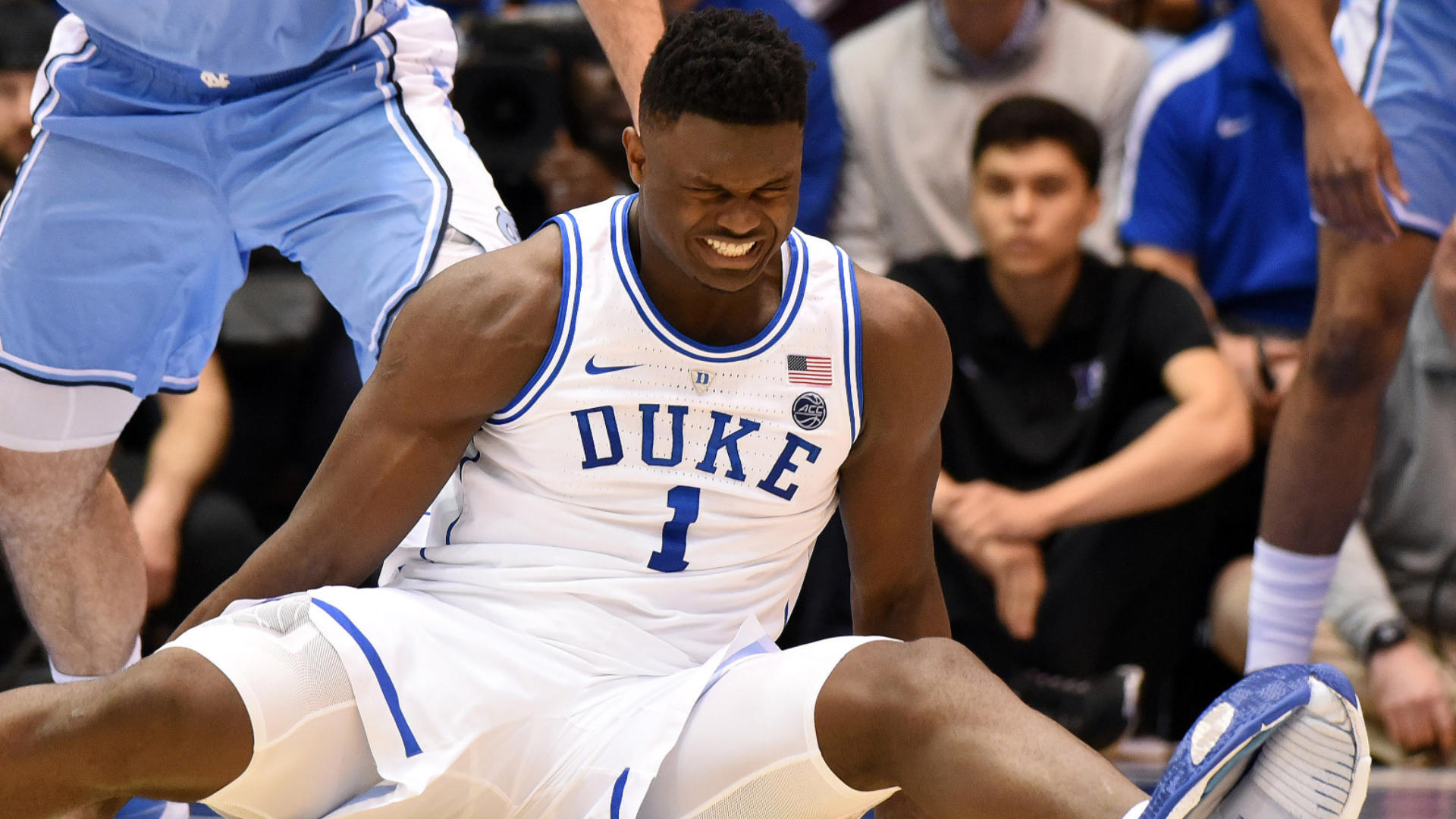 Zion Williamson injury: Nike issues statement after Duke freshman blows out shoe, sprains knee vs. UNC