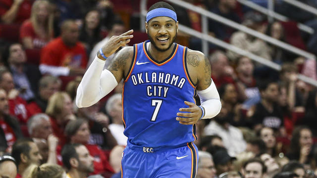 e83b7adf6416 NBA  Breaking Down The Impact Melo Will Have In Houston - Video ...