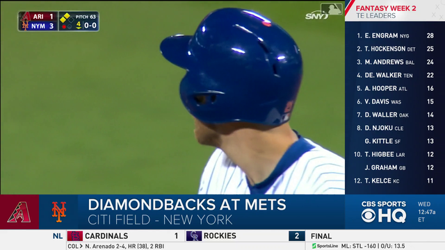 game:NFL: Highlights: Diamondbacks at Mets - Video
