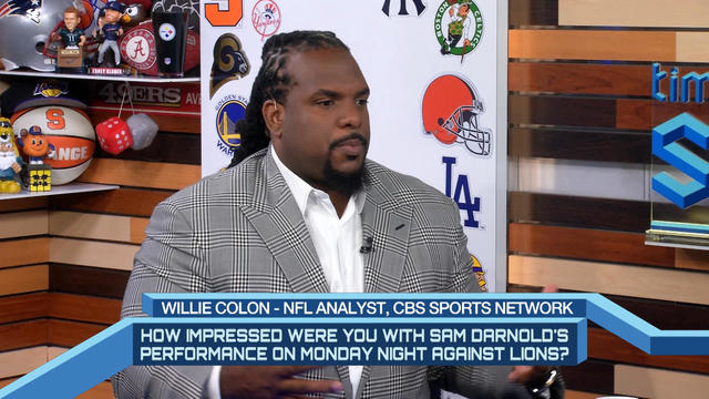 Time To Schein: Time to Schein: Willie Colon talks Sam Darnold and ...