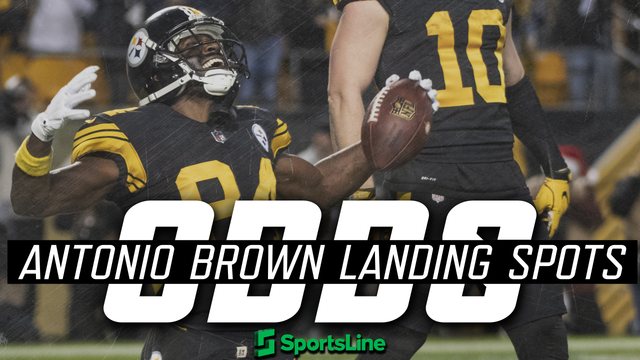 Antonio Brown trade odds for all 32 NFL teams
