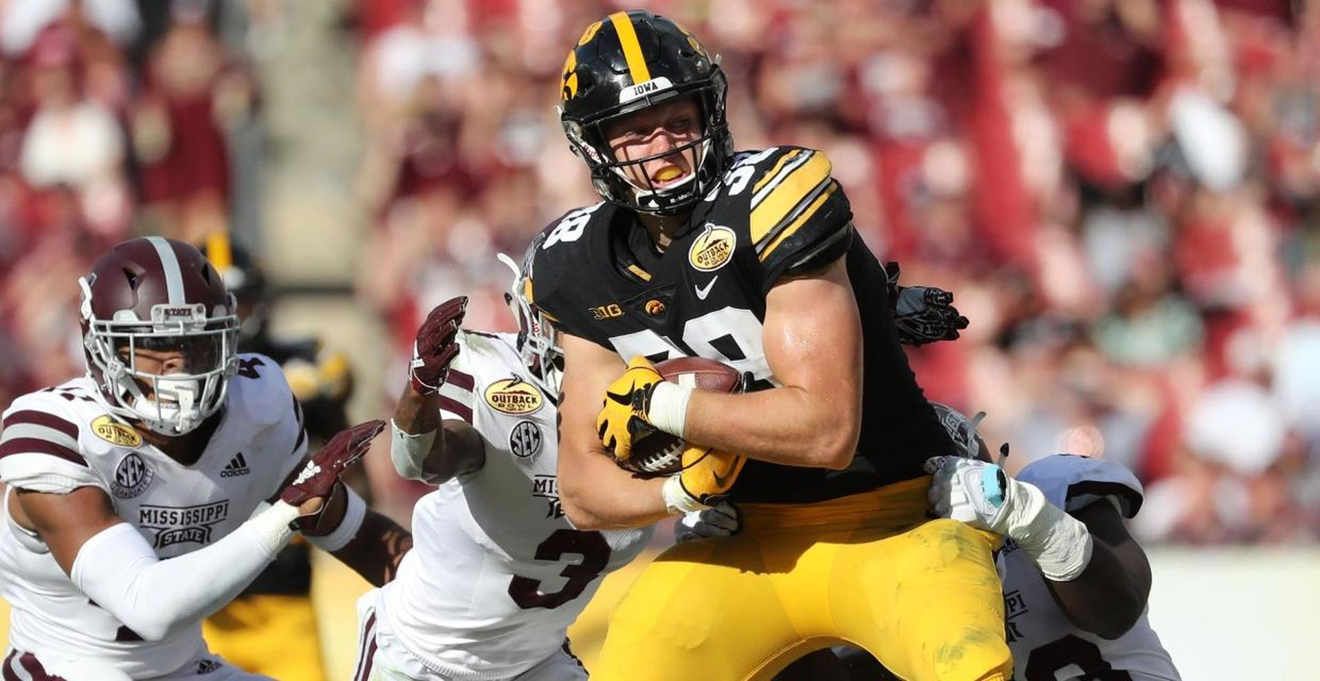 T.J. Hockenson NFL Draft profile: Everything to know about pro day, measurements, strengths, team fits