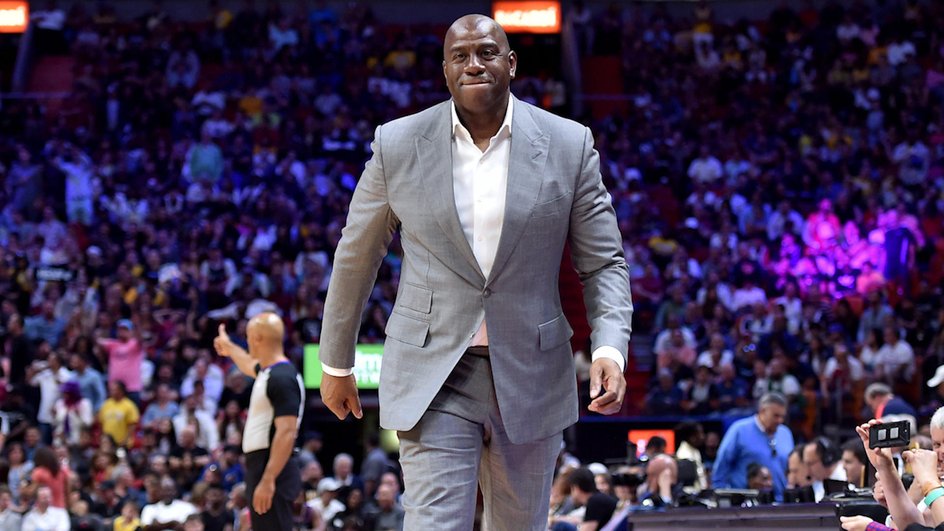 Magic Johnson calling out Rob Pelinka latest example of how dysfunctional Lakers have become