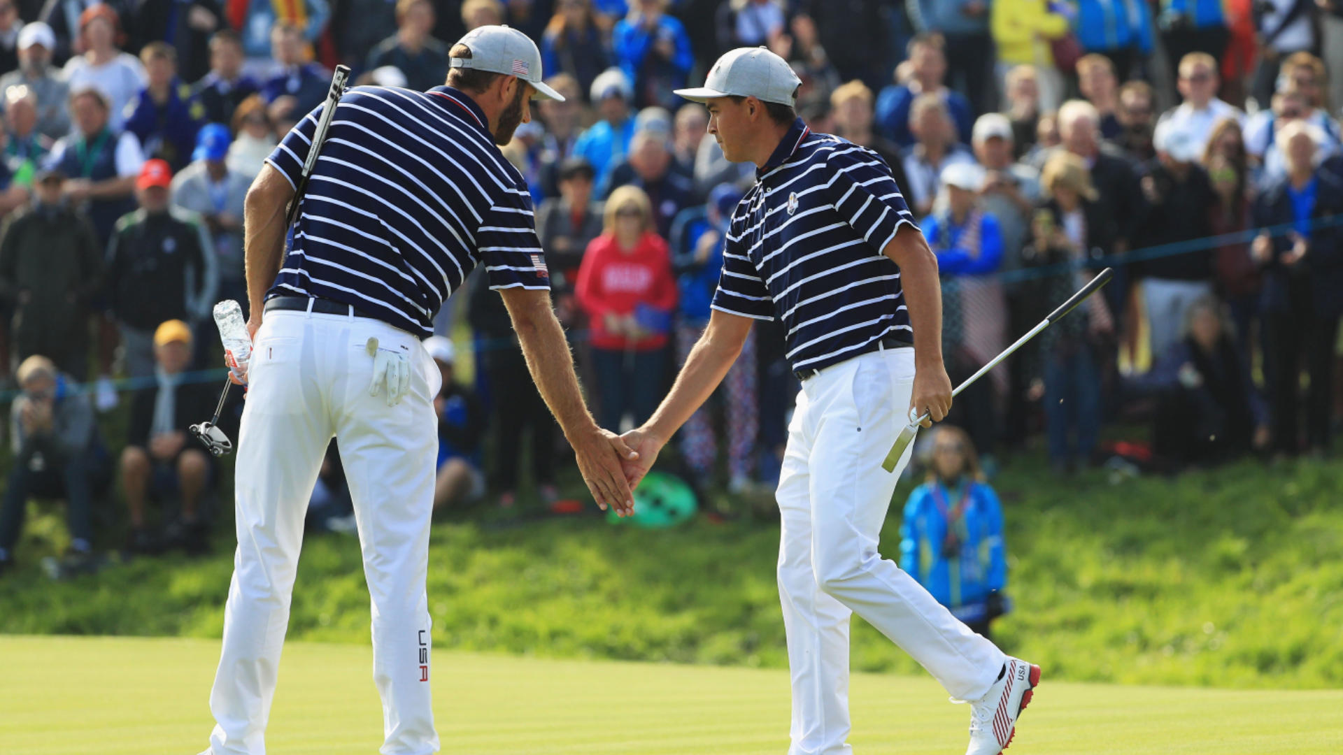 2018 Ryder Cup: Rickie Fowler, Dustin Johnson Come Up Big - CBSSports.com