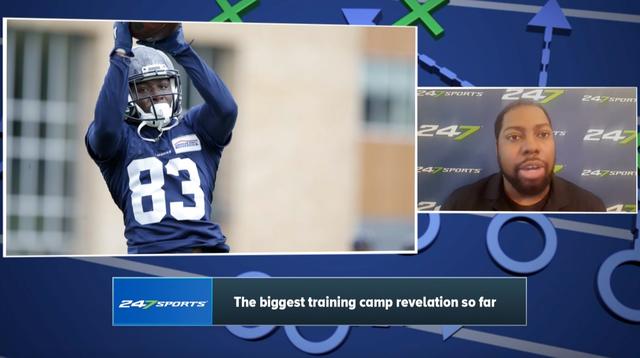 bc00eb9e680 NFL: Seattle Seahawks: The Seahawks' biggest training camp revelation so  far - Video - CBSSports.com
