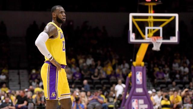 fdc2f758d NBA  Los Angeles Lakers  LeBron Era underway in LA - Video ...