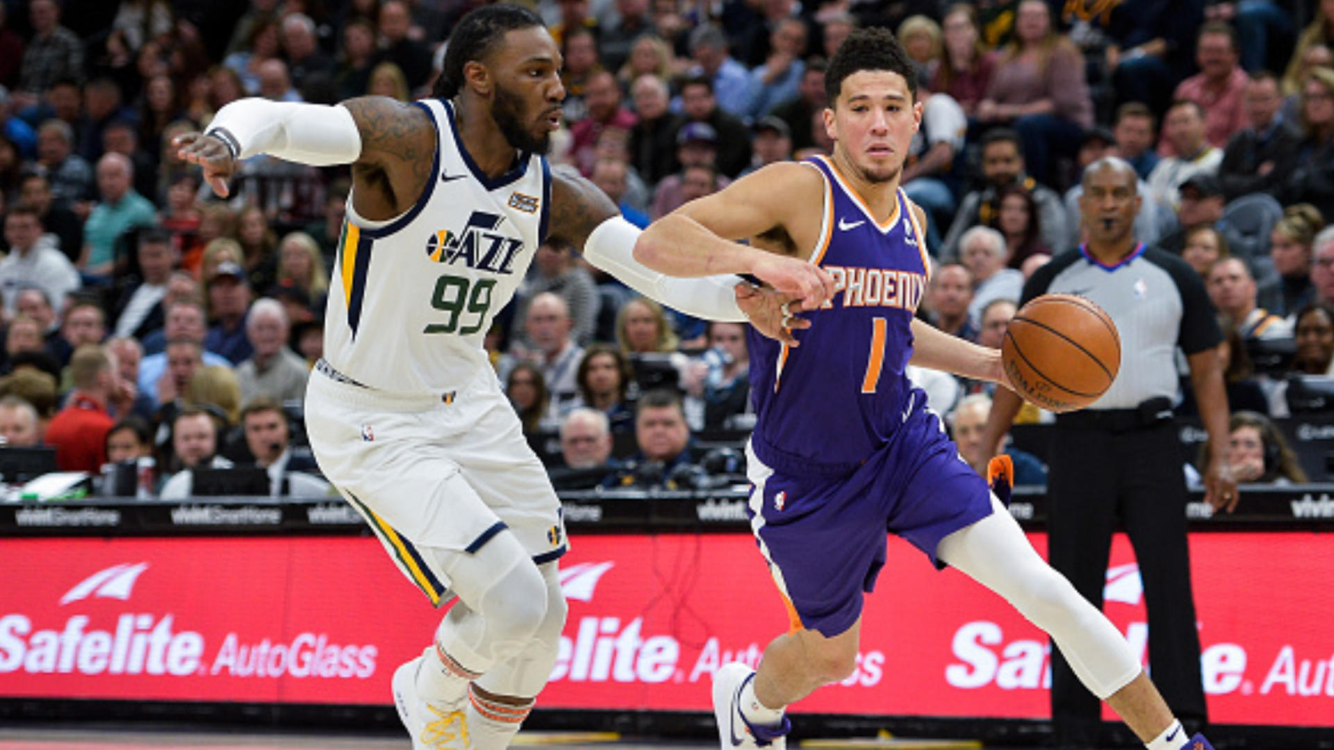 Jazz intentionally foul another Suns player to prevent Devin Booker from scoring 60 points