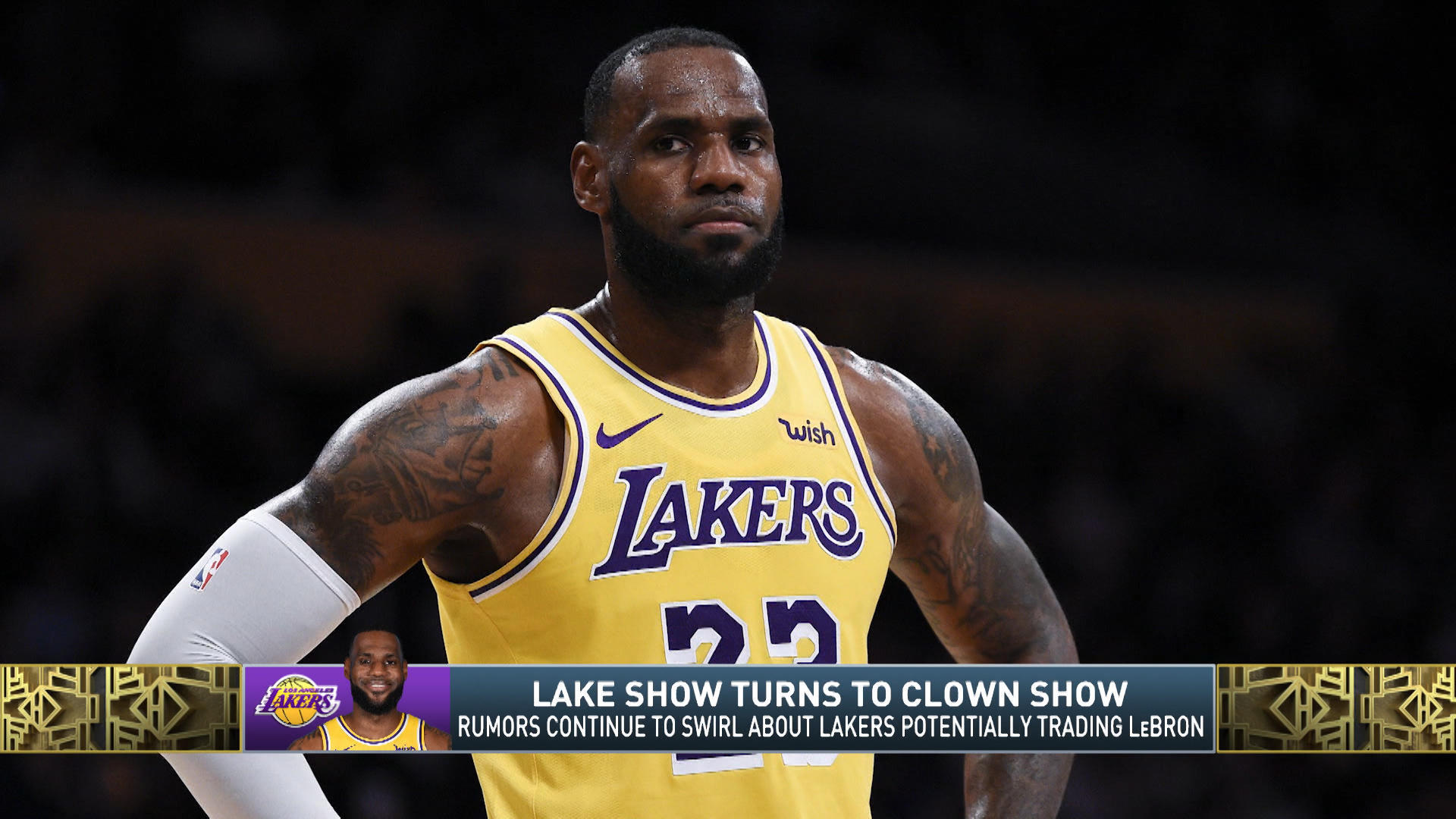 LeBron James reportedly happy in Los Angeles despite Lakers dysfunction, wants to play in city for the rest of his career