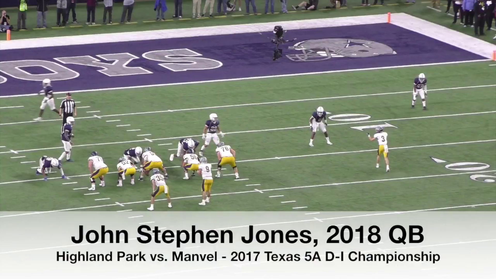 Jerry Jones' grandson leads Texas high school to state title with 564-yard game