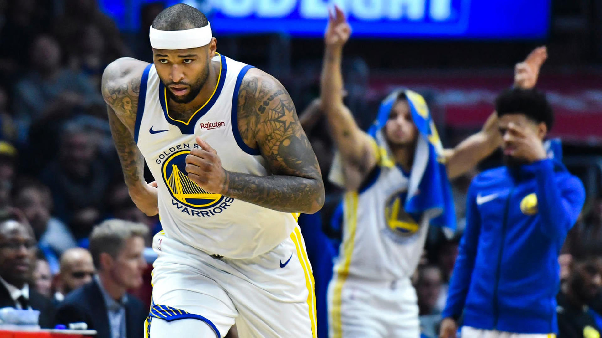 Warriors' DeMarcus Cousins on short-lived partnership with Anthony Davis: 'I think about our pairing all the time'